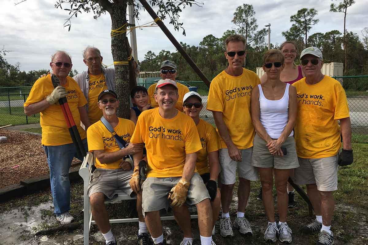 God's Work, Our Hands volunteers of CVLC | Christus Victor Lutheran Church Naples & Bonita Springs