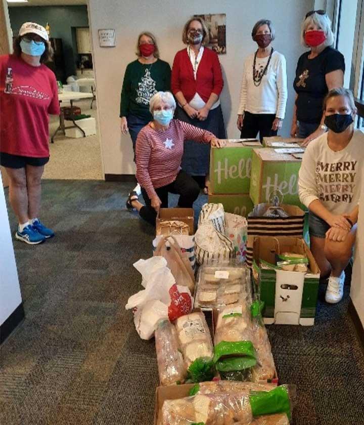 Senior Minsitry food donation project at CVLC   Christus Victor Lutheran Church Naples & Bonita Springs