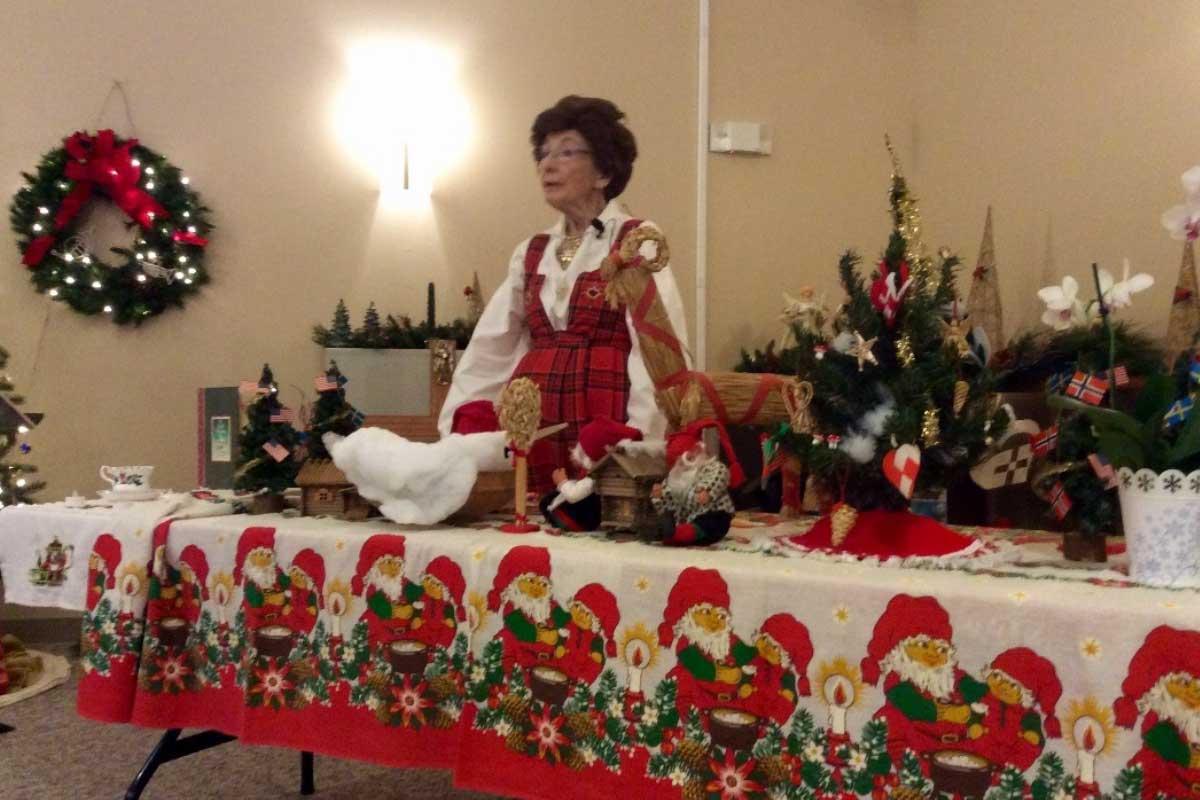 Senior Ministry members during Christmas at CVLC   Christus Victor Lutheran Church Naples & Bonita Springs